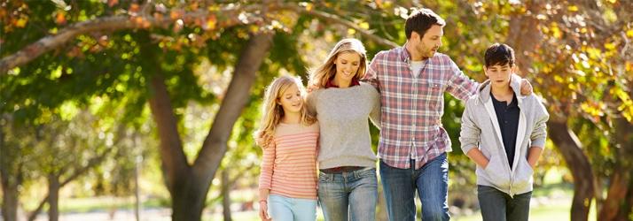 Chronic Pain Pulaski TN Family Walking